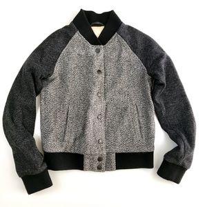 Levis Wool Blend Bomber Jacket